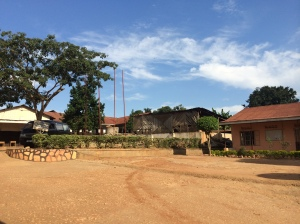 The grounds of Tender Talents Magnet School, Kasangati, Uganda