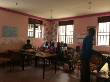 Mummy Foundation classroom
