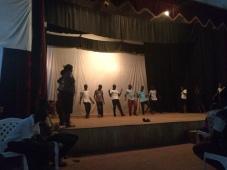 Ugandan dancing rehearsal